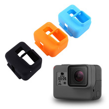 Protective Silicone Camera Case Dustproof Scratchproof Housing Skin Case Cover For Gopro Hero 5