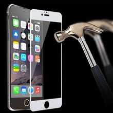 2016 new Tempered Glass film for iPhone6 6s Support Force 3D Touch Original 9H Hardness HD Full Cove High Qualityr