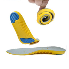 2 pairs basketball running shoe pad athletic insoles shock absorption memory foam sport insole massaging sweat absorbing