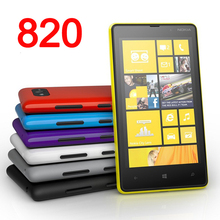 "Original NOKIA Lumia 820 Mobile Phone Windows Phone 4.3"" 3G Wifi 8MP Unlocked Refurbished Nokia 820 Phone(China)"
