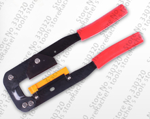 Hub Flat Cable Network crimping pliers IDC connector on to ribbon cable,computer wire tools(China)