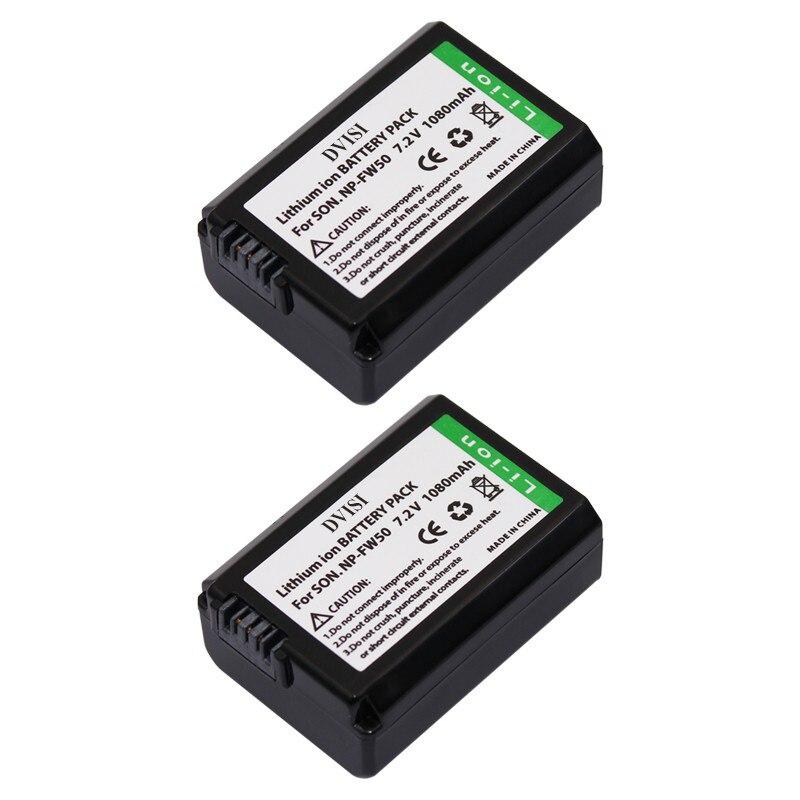 2Pcs 7.2V 1.08Ah NP-FW50 FW50 NPFW50 Battery for Sony Alpha 7 7R II 7S a7S a7R II a5000 NEX-7 SLT-A37 DSC-RX10 RX10 II III 7SM2<br><br>Aliexpress