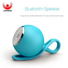 SUNRISE Waterproof Bluetooth Speaker Handsfree Super Mini Wireless Shower Speakers Support SD Card For iPhone Samsung Huawei