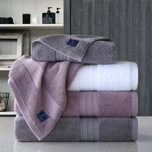 Lovers Hotel Towels 800g Cotton Towel Set Face Towels Bath Towel for Adults Washcloths High Absorbent 150X80cm