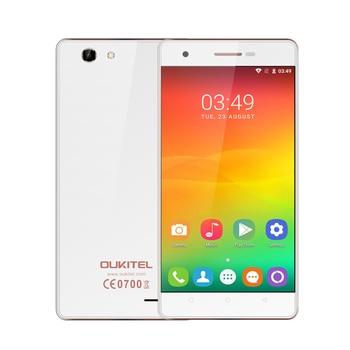 Oukitel C4 5.0 Pouce HD Écran Smartphone 1 GB RAM + 8 GB ROM 2000 mAh Cellulaire Téléphone MTK6737 Quad Core Android 6.0 Mobile Téléphone
