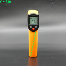 BENETECH GM320 Non-Contact Laser Gun Infrared Digital IR Thermometer industrial LCD with Back Light 380 Centidegree