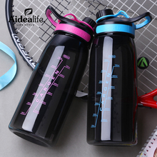 unique blue red plastic bottles eco friendly sport bottle large promotional items with customized logo motivational gifts