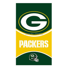 Helmet Design Green Bay Packers Flag Banners Sport Football Team Flags 3x5 Ft Super Bowl World Champions Banner Decoration(China)