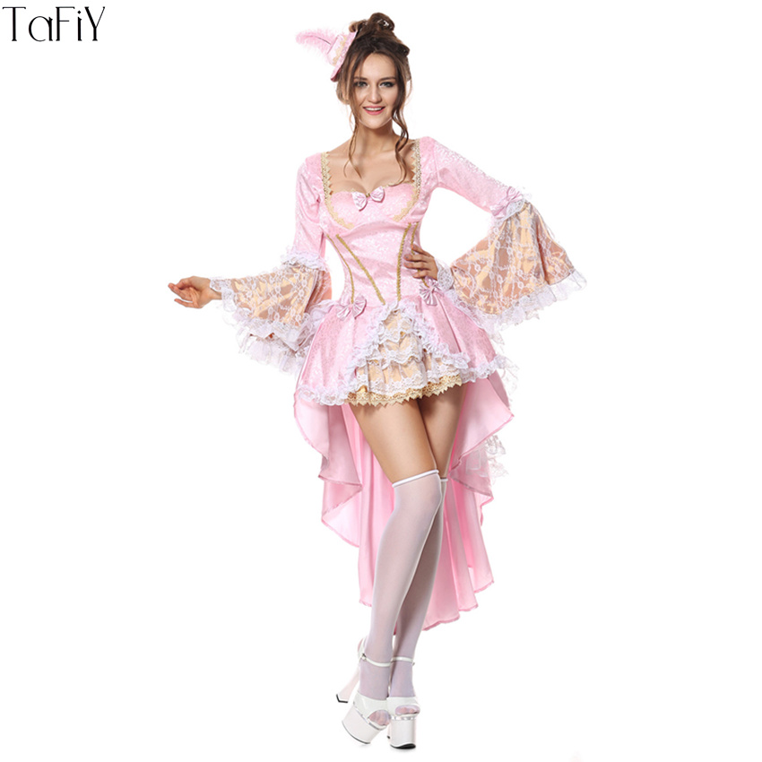 TaFiY 2017 Halloween Party Women Cinderella Costumes Ladies' Fancy Dress Adult Women Cinderella Princess Dress Cosplay Costume