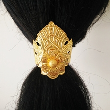 golden ancient hair clip vintage hairpin vinatge hair accessories chinese han dynasty wig decoration warrior hair decoration