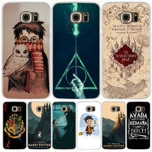 Marauders Map Harry Potter DEATHLY HALLOW QOUTES cell phone case cover for Samsung Galaxy A3 A310 A5 A510 A7 A8 A9 2016 2017