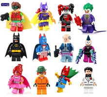HAOGAOLE  PG141 Scuttler Robin Blue Suit Single Sale 2017 The Batman Movie 70908 Building Children Gift Toys Hobbies PG8042