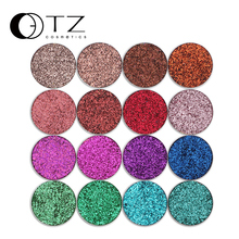 Glitterinjections Pressed Glitters Single Eyeshadow Diamond Rainbow Make Up Cosmetic Pressed Glitters Eye shadow Magnet Palette(China)