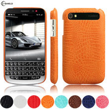 Leather Case for BlackBerry Classic Q20 SQC100 SQC100-1 Phone Bumper Fitted Case for RIM Kopi Q 20 SQC100-2 Hard PC Frame Cover(China)