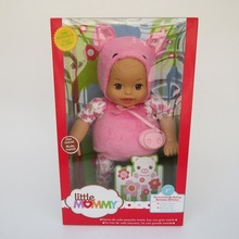 38cm little pink pig baby Little Mommy baby doll Fragrant Boneca doll toy figure toy