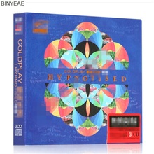 BINYEAE- new CD seal: cool play band album song British style rock music selected car music 3CD disc [free shipping](China)
