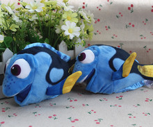 Free Shipping 18cm=7.1Inch Original Cartoon Finding Nemo Doll Dory Fish Stuffed Animal Soft Plush Toy Soft Doll For Baby Gift(China)