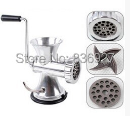 No.5 Small Household manual meat grinder aluminium alloy body with stainless steel blade<br>