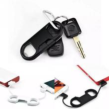 New hot sell multifunction Micro USB Cable Key chain design retractable data charger cable with bottle opener for android phone