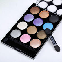 12 Colors Eyeshadow Palette Professional Salon Wedding Parties Fashion Women Beauty Accessories Cosmetic Makeup Tools