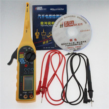 New Automotive Electrical Multimeter Line/Electricity Detector and Lighting 3 in 1 Auto Repair Tool(Red) Auto Circuit Tester(China)