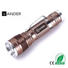 High Power Vander Mini LED Flashlight CREE 1200LM Waterproof Q5 LED Flashlight 3 Modes Zoomable LED Torch Adjustable Penlight