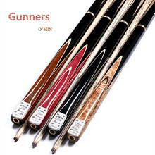 OMIN Occupational level Code gunners three-quarters of cue snooker cue 3/4 snooker Billiards Pool cue Tip diameter 9.5mm 10mm(China)