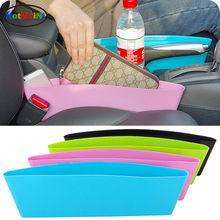 Car Storage Bag Box Vinyl Car Seat Pocket Organizer Caddy Catcher Space Store Leak-Proof Stowing Tidying Gap Slit Pocket Holder
