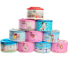Han Pu cartoon multi printing makeup bag portable washing cylinder type package factory direct storage convenience
