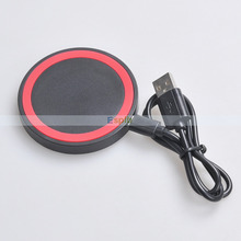Q5 Mobile Qi Wireless Charger Charging Coil Pad Qi-Enabled Wireless Charger for Samsung Galaxy Note 5/S6&Edge/Lumia 920/Nexus 4