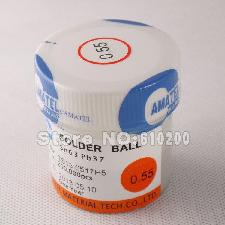 Free shipping BGA reballing kit Reballing station 0.55MM 250k bottle 63Sn/37Pb BGA reballing solder balls leaded<br><br>Aliexpress