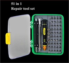 51 in 1 Repair Hand Tools Set Professional Screwdrives For Apple Mobile Phone For Samsung Laptop PC Computer Small Appliances
