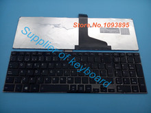 Free Shipping NEW Spanish Keyboard for TOSHIBA SATELLITE L850 L850D L855 L855-10U L855D P850 L870 L870D Laptop Spanish Keyboard