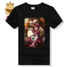 LOL fans daily wear game fans tee shirt LOL character Annie the dark child printing cute t shirt ac360