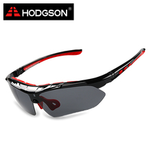 HODGSON 1013 Detachable Polarized Cycling Goggles Set Interchangeable Lens Sun Glasses Bike Sports Eyewear Cycle Sunglasses(China)