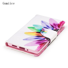 Gumiice phone cases 2017 new arrival jean cloth wallet card pocket holder smart phone leather case for Nokia 3 free shipping(China)