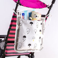 Baby Bed Carts Hanging Storage Bag Crib Organizer Toy Diaper Pocket for Cradle Bedding(China)