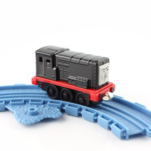 Brand thomas and friends trains diesel head magnetic Locomotive Diecast pista alloy metal models train mini collection gift toys