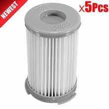 5Pcs robot vacuum cleaner Cartridge Pleated HEPA Filter EF75B for Electrolux ZS203 ZTI7635 ZW1300-213 Replacement parts(China)