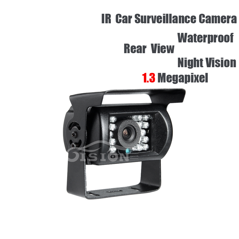 AHD Rear View Camera DC12V 1.3MP Waterproof IR Night Vision Outdoor for Vehicle Truck Lorry School Bus Reverse Backup Security <br>