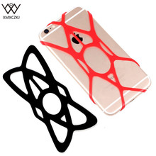 XMXCZKJ 2 pcs Bike Rubber Bands Universal Bike, Handlebar,Motorcycle Replacement Rubber Silicone Bands For smart phone(China)