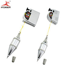 RDEER 1PC Magnetic Line Hammer 3m/6m Suspension Vertical Pendant Hammer Woodworking Construction Tools(China)