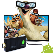 MK809 III 2GB 8GB Android 5.1 TV Dongle RK3229 Quad Core UHD 4K HDMI KODI 3D TV Stick AirPlay DLNA H.265 WiFi Smart TV Mini PC(China)