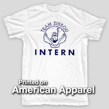 TEAM ZISSOU INTERN Life Aquatic Anderson Bill Murray AMERICAN APPAREL T-Shirt Cotton T-Shirt Fashion T Shirt Free Shipping