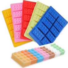 Silicone Building Mold For Cake Cookie Candy Chocolate Ice Cube Tray Cooking Baking Tool Gadget Accessories Supplies