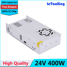 Single Output Switching power supply 24V 17A 400W Transformer 110V 220V AC To DC 24V 16.5A SMPS For Led Strip Display(China)