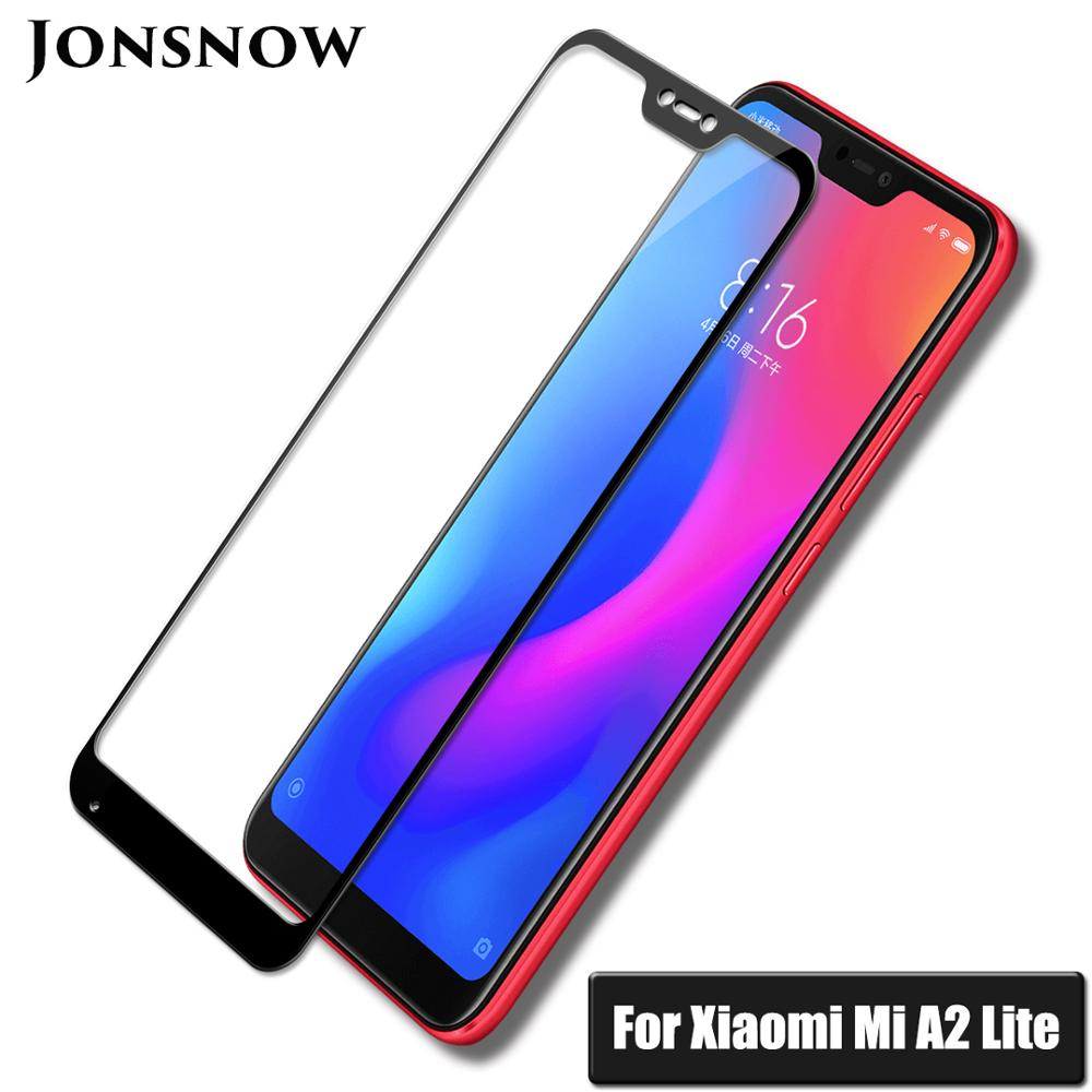 KXM1373_6_Full Coverage Glass For Xiaomi Mi A2 Lite 5.84 inch Screen Protector Protective Film