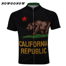 NEW 2017 Road Mountain CALIFORNIA BEAR Classical Team Bicycle Bike Cycling Jersey / Wear Clothing Breathable NOWGONOW Customized(China)