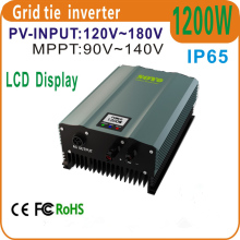 1200W Grid Tie Inverter PV-Voc input 120-180v   Solar Inverter  AC230V 50HZ or 60Hz Home Solar  Systems