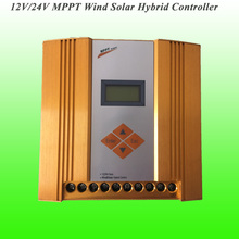 2017 Hot Selling 400W 12/24V Automatically Recognition MPPT Wind Solar Hybrid Controller